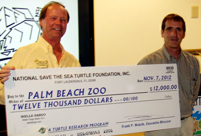 Hawksbill, sea turtle, Palm Beach Zoo Donation